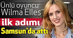Ünlü Oyuncu Elles: İlk Filmimi Samsun'da Çektim