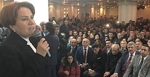 Akşener, Bursa'da Konuştu