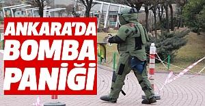 Ankara'da  Bomba Paniği!