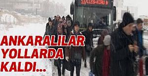 Ankaralılar Yollarda Kaldı
