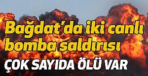 Bağdat'da iki canlı bomba saldırısı...