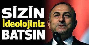Bakan Çavuşoğlu; Herkes Sussa da biz Susmayacağız