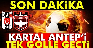 Beşiktaş 1 Gaziantepspor 0