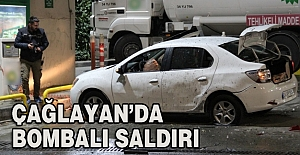 Çağlayan'da benzinliğe bombalı saldırı!