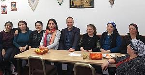 CHP'li Akcagöz, Avusturya Birliği merkezini ziyaret etti