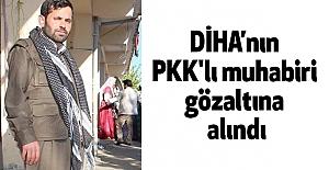 DİHA'nın PKK'lı muhabiri gözaltına alındı
