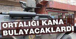 Diyarbakır'da Ortalığı Kana Bulayacaklardı