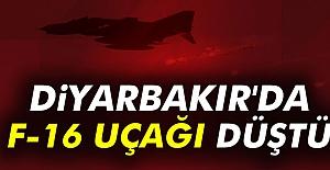 Diyarbakır'da Savaş Uçağı  Düştü