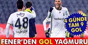 Fenerbahçe'den Gol Yağmuru
