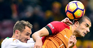 Galatasaray: 2 - Aytemiz Alanyaspor: 1