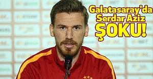 Galatasaray'da Serdar Aziz Şoku ile karşı karşıya