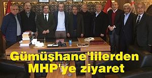 Gümüşhanelilerden Samsun MHP'ye Ziyaret