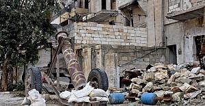 Halep kalıntılar içinde