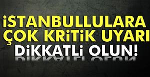 İGDAŞ İstanbulluları Uyardı!