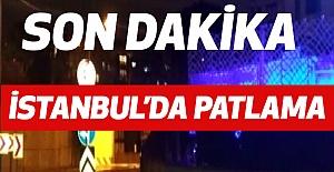 İstanbul Maltepe'de Şok Patlama