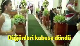 Düğünleri kabusa döndü