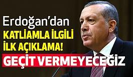 Erdoğan'dan Kulüp Katliamıyla İlgili İlk Açıklama