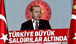 Erdoğan, Kaymakamlar Toplantısında Konuştu