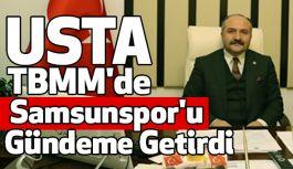 Erhan Usta; TBMM'de Samsunspor'u Gündeme Getirdi