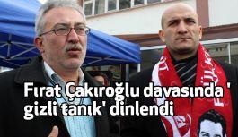 Fırat Çakıroğlu, Şehit Fethi Sekin'i karşıladı