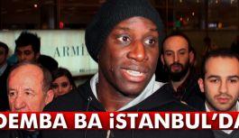 Futbolcusu Demba Ba, İstanbul'a Geldi