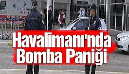 Havalimanı'nda Bomba Paniği
