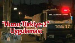 """""""Huzur Türkiye-2"""" Uygulaması"""