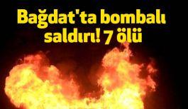 Irak'ın Başkentinde bombalı saldırı