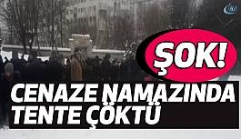 İstanbul'da cenaze namazında korkunç olay