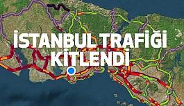 İstanbul Trafiği Kitlendi...