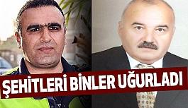 İzmir Şehitlerini Binlerce Kişi Uğurladı