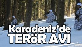 Karadeniz Dağlarında Terörist Avı