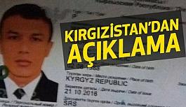 Kırgızistan'dan Reina teröristi ile ilgili açıklama!