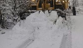 Kırıkkale'de 88 köy yolu ulaşıma kapandı