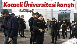 Kocaeli Üniversitesi Karıştı