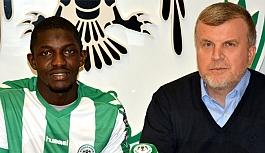 Konyaspor, Fofana ile  sözleşme imzaladı
