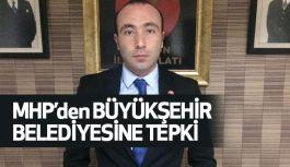 MHP'den Büyükşehir Belediyesi'ne Kar Tepkisi