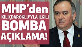 MHP'den Kılıçdaroğlu Hakkında Bomba İddia