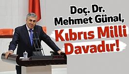 MHP'li Günal: Kıbrıs Milli Davadır! Haklarımızdan Taviz Verilmemeli!
