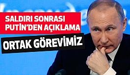 Putin'den Saldırı Açıklaması ve Taziye