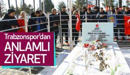 Trabzonspor'dan maç öncesi anlamlı ziyaret