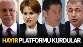 """""""Türk Milliyetçileri 'Hayır' diyor""""  Platforu Kuruldu"""