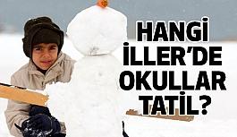 Türkiye'de Okullara Kar Tatili Var mı? (9 Ocak)