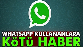 Whatsapp Bazı Telefonlara Veda Ediyor...