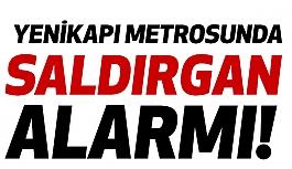 Yenikapı Metrosunda Saldırgan Alarmı!