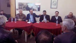 Akcagöz,  Tekkeköy'de Hayır'ı Anlattı