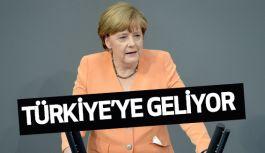 Angela Merkel, Türkiye'ye geliyor