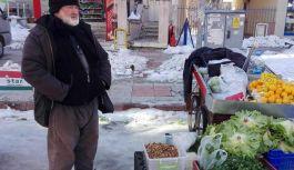 Atakum'da Pazarcıların Kar Tepkisi