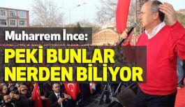CHP'li Muharrem İnce; Çanakkale Mitinginde Konuştu