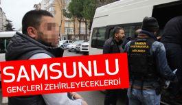 İstanbul'dan getirilen uyuşturucu haplarla Samsunlu Gençleri Zehirleyeceklerdi